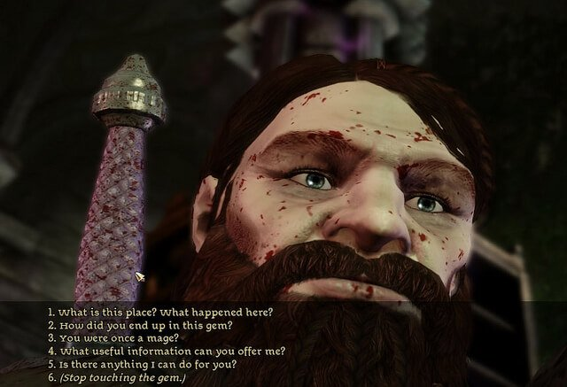 Voice in Bioware's Dragon Age: Origins